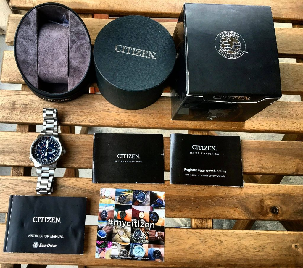 Citizen Nighthawk Full Kit