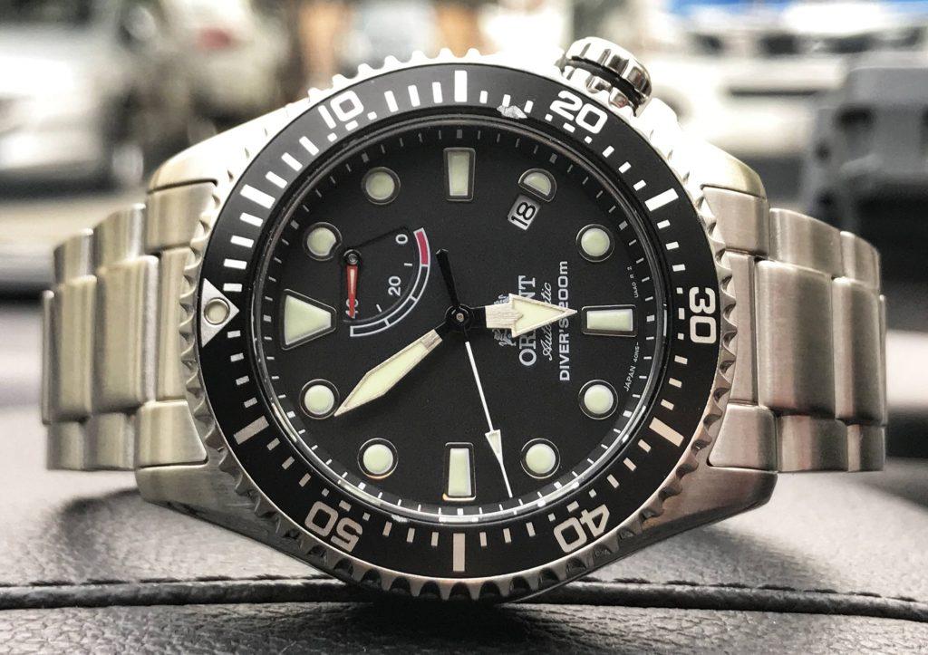 The Orient Triton 200m Diver