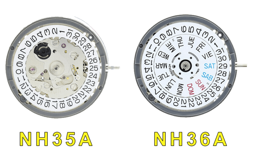 NH35a vs NH36A comparison