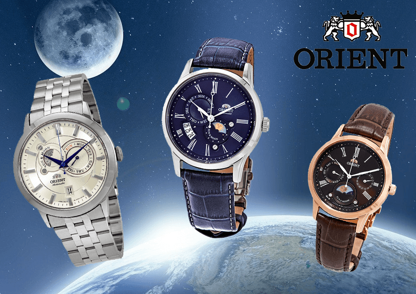 Orient Sun and Moon - multiple versions
