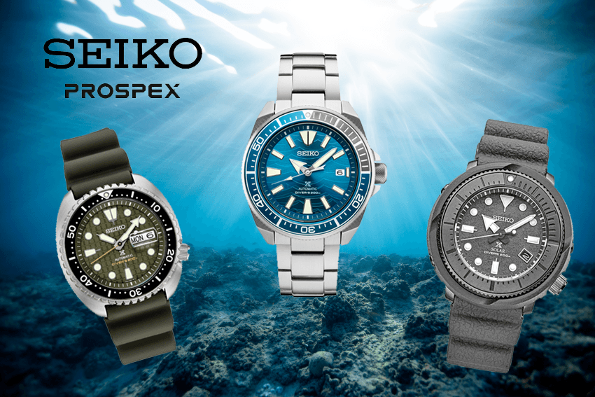 Best Seiko Dive Watches - king turtle, samurai, and Seiko Solar Street Series