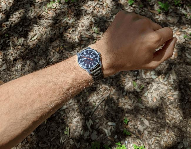 Citizen BM8180-03E far wristshot